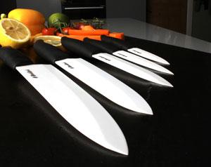 За керамическими ножами нужен особый уход, но результат того стоит