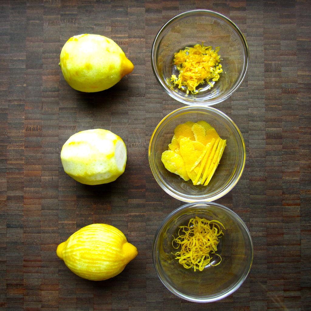 Что такое цедра лимона
