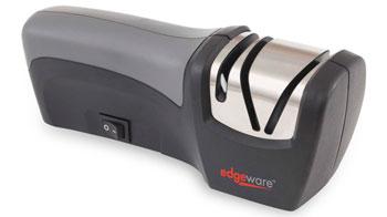 Обзор электрической точилки для ножей Edgeware 50073