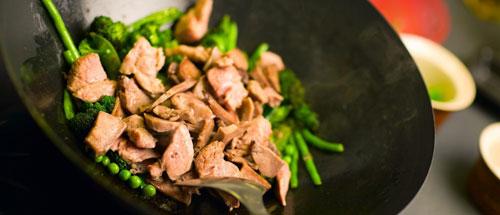 Блюда, приготовленные в воке имеют непередаваемый аромат