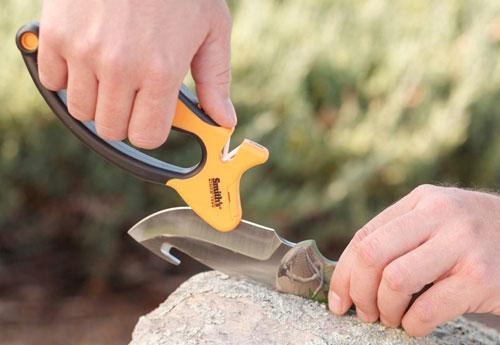 Smith's Jiffy-Pro – удобная модель для заточки охотничьих и туристических ножей