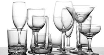 Виды бокалов и фужеров